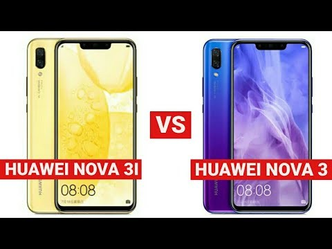 Huawei Nova 3 vs Huawei Nova 3i: How are they different