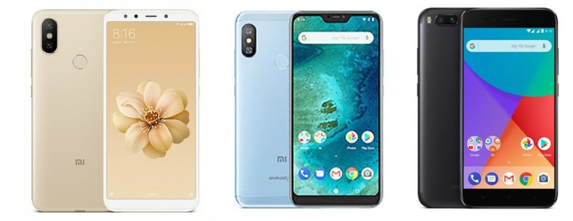 Xiaomi Mi A2 Vs Mi A2 Lite vs Mi A1: Battle between Android