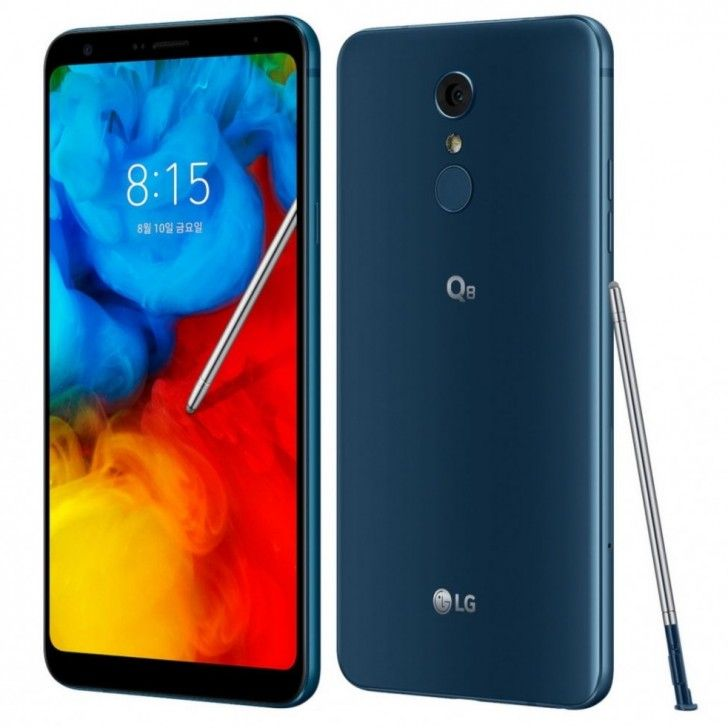 LG Q8 (2018) announced with 6.2 inch display, stylus, IP68 certification