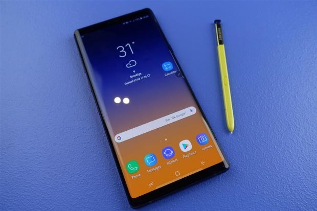 The Evolution Of Galaxy Note To Galaxy Note 9 Infographic