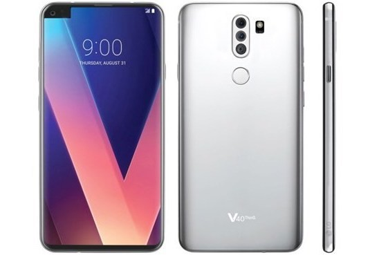 LG V40 renders reveal side notch and triple rear cameras