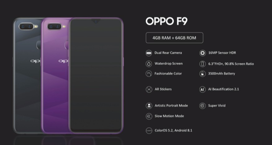 Oppo F9 Pro launched with 25MP selfie camera and VOOC Flash charging