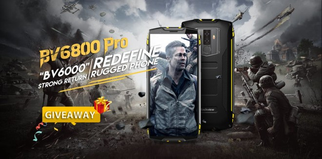 Blackview BV6800 Pro, new rugged Android phone to launch in
