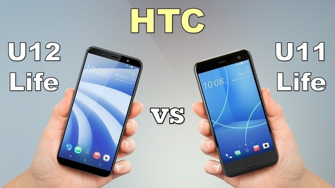 HTC U12 Life vs U11 Life: An in-house competition