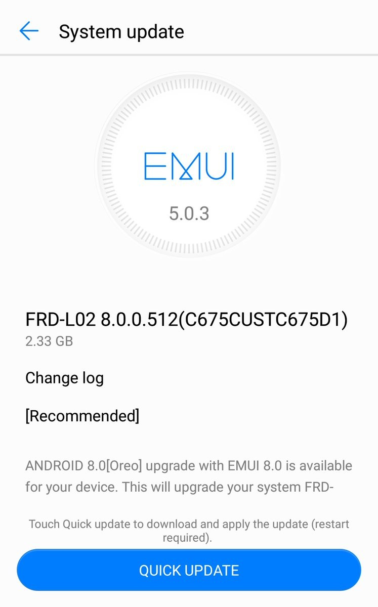 Honor 8 is finally receiving Android 8 Oreo update