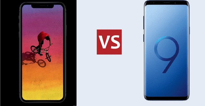 Samsubg S9 Vs Iphone Xr