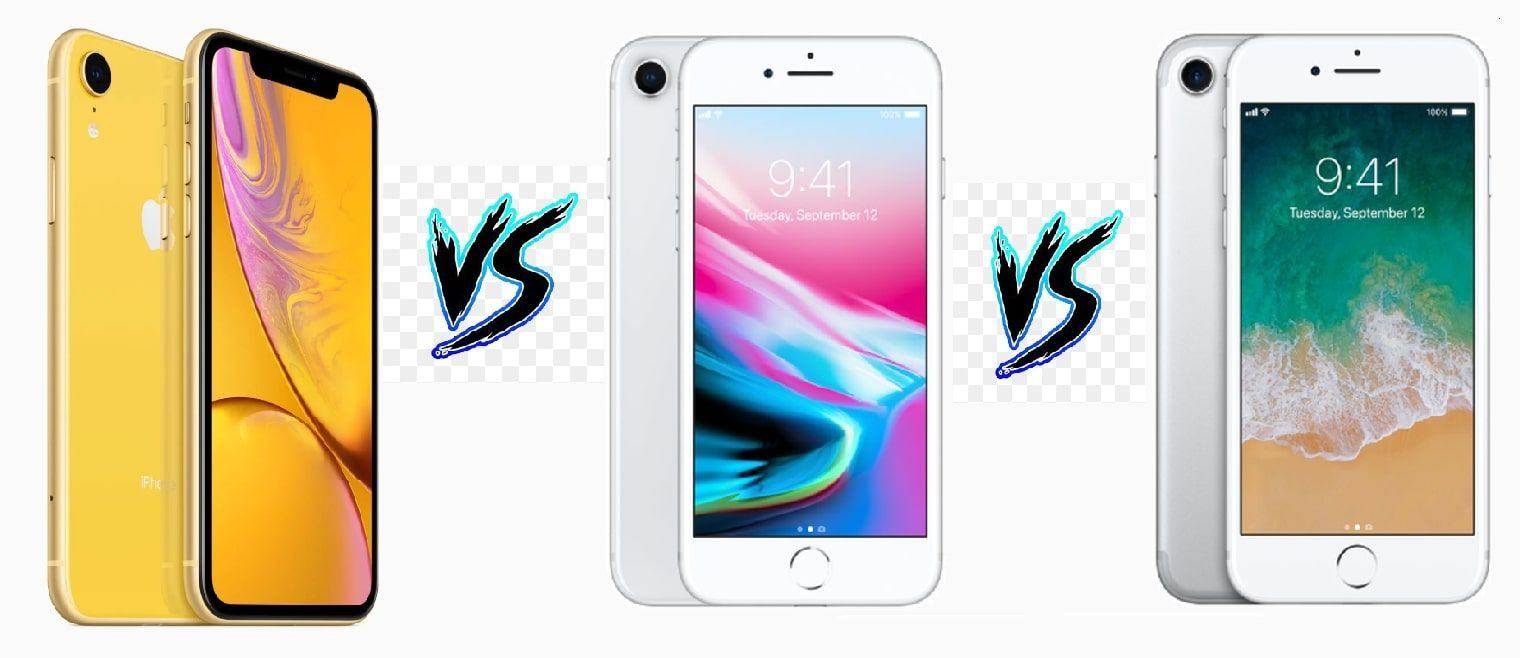 Apple iPhone XR vs iPhone 8 vs iPhone 7: How they differ?