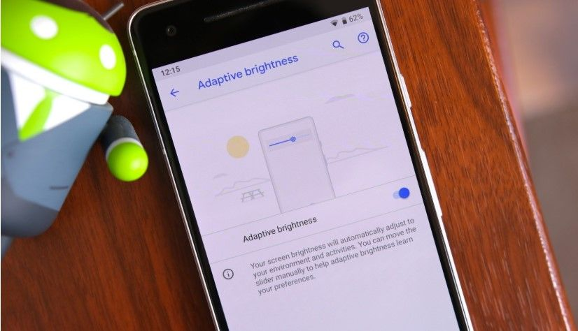 Android 9 Pie adaptive brightness not working on Pixel 2 devices