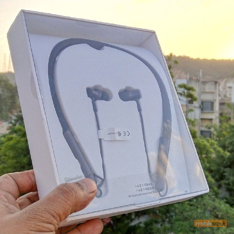 Mi Neckband Bluetooth Earphones LYXQEJ01JY: Mobilescout Review