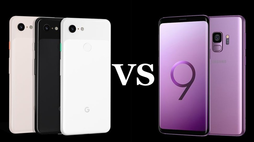 Google Pixel 3 vs Samsung Galaxy S9: An invincible fight