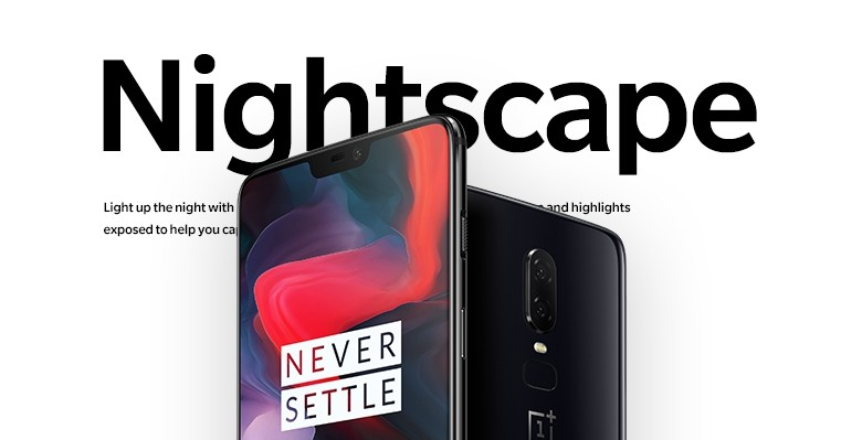 OnePlus 6 receives Nightscape mode and gesture feature via