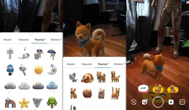 Google Playground AR camera app ported to support non-Pixel