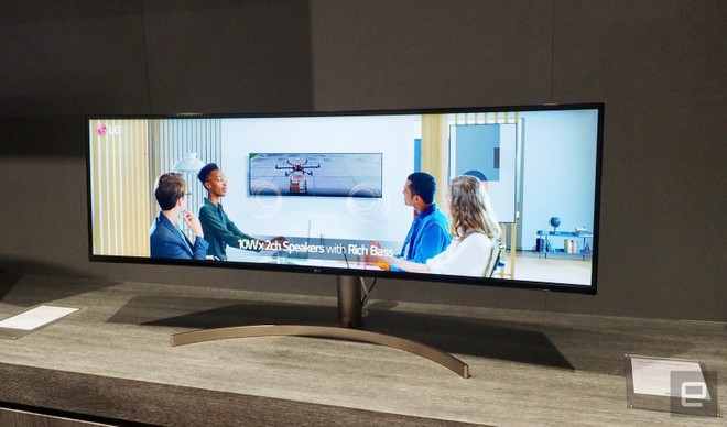 LG unveils 49-inches Monitor with HDR 10 and Dual QHD resolution