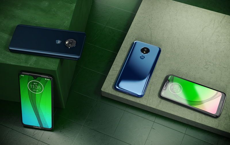 Motorola makes Moto G7, G7 Plus, G7 Power, and G7 Play official
