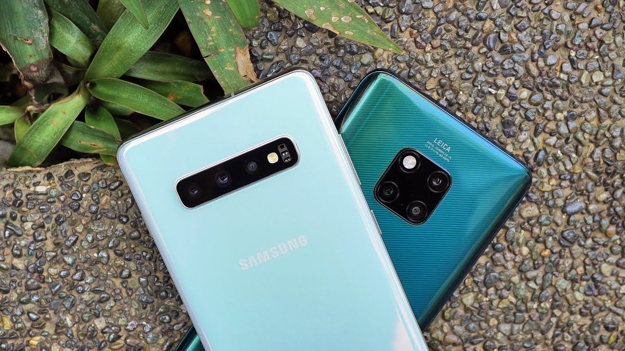 Samsung Galaxy S10 Plus vs Huawei Mate 20 Pro:  How are they different?