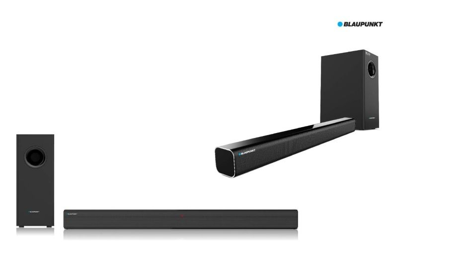 Blaupunkt launches SBW-100 and SBW-02 wired sound bars launched in India