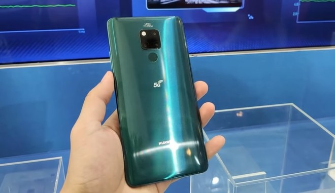 Huawei Mate 20 X 5G updated with 30x zoom, disabled 5G by default