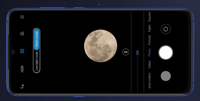 Xiaomi Mi 9 SE camera app gets Moon mode with the latest update