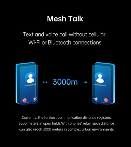 Oppo MeshTalk aims to make calls with no possible network connection