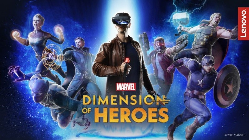 Lenovo's Dimension of Heroes AR experience lets you become